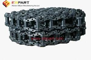 caterpillar track chain link assembly