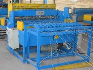 mesh fencing welding machine