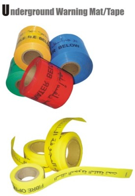 warning tape cable protection cover tile detectable