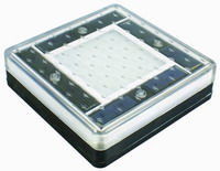solar led brick underground light