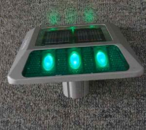 solar road stud marker light