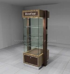 Mdf And Tempered Clear Glass Jewellery Display Showcase