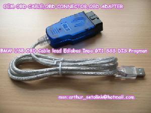Bmw Usb Obd Cable Lead Ediabas Inpa Gt1 Sss Dis Progman