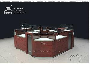 kiosk store display showcase watch showroom furniture