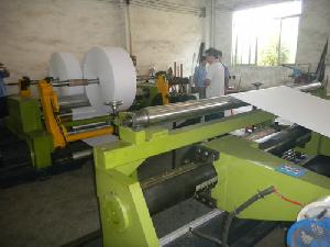 Jumbo Paper Roll Center / Center Surface Slitter Rewinder