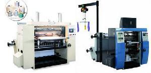 Thermal / Ncr Paper Roll Slitter Rewinder