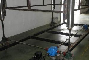 Rotating Screw Jacks Lifting Tunnel Freezer Systems