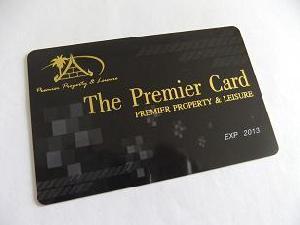 creditc card plastic cr80 pvc membership cardno moq