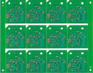 placa circuito impreso pcb con resina de fr 4 epoxi
