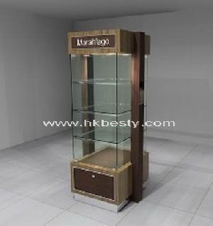 Jewelry Display Showcase Storage Cabinet Glass Mirror