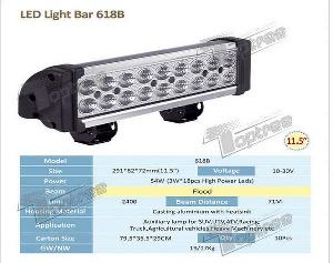 2012 Super 54w Emergency Light Bars 618b For Atv, Utv, Suv, Truck, Farm Machinery