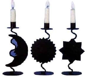 Iron Candle Holder