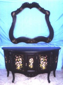Adda Console Table With Mirror