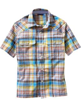 Cotton Check Shirts For Boyz