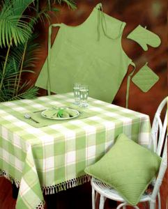 table cloth apron kitchen towel bed spread