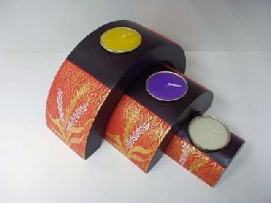 Mango Wood Products, Candle Holder, Vase From Bangkok