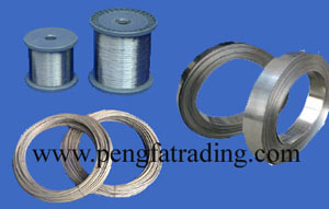 Sell Nickel Alloy Wires Strips Ni80cr20