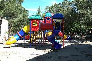 Playground, Indoor & Outdoor Fitness Equipment, Rubber Flooring, Impact-absorbing Surfacing.