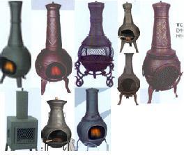 Supply Cast Iron Chiminea