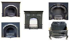 Supply Cast Iron Fireplace