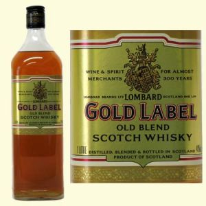 We Sell 3yo Blendeed Scotch Whisky  Lombards   Gold Label
