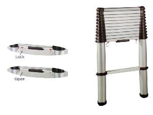 European Standard Common Step Telescopic Ladder(lapt-420xx)