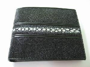 Leather Products : Stingray Leather Wallets Crocodile Ostrich Cowhide Snake Skin Purses Belts