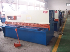 Guillotine Shear, Hydraulic Swing Beam Shear, Metal Cutting Machine