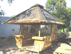bamboo furniture sofa chair dining tables tiki bar gazebo garden hanicraft