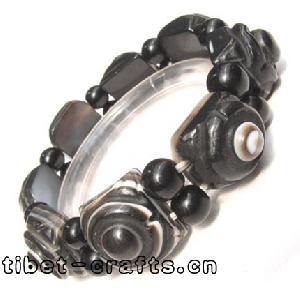 Tibetan  Inch Longan Inch Sardonyx Agate Bracelet