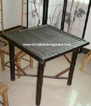Bamboo Coffee Table Black Or White Bleached Blonde Bamboo Or Authentic Original Natural Yellowish