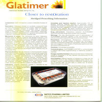 Glatiramer Acetate Injection 20mg S.c.