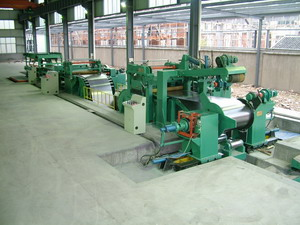 Sell Slitting And Cut To Length Line
