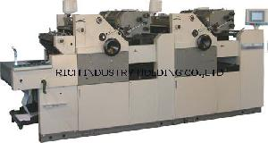 4 Color One Sided Continuous Bill Form Printing Machine