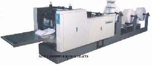 Multilayer Continuous Paper Punching And Folding Machine