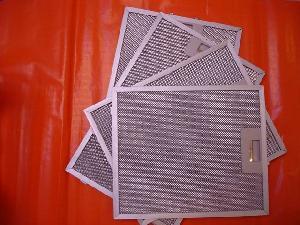 metalic extactor hood filter