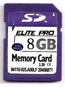 Sell 8gb Secure Digital Memory Card For Camera Gps Digital Device And So On
