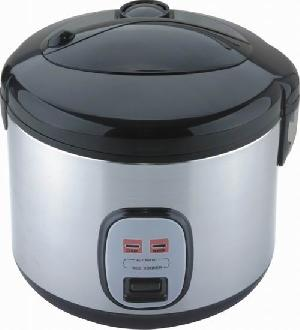 Stainless Steel Deluxe Rice Cooker