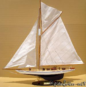 Viet Nam Handicrafts-wooden Model Boat Defender