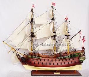 Wooden Boat Model Viet Nam Norske Love