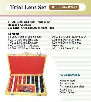 trail lens ophthalmic equipments