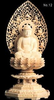 buddha wooden statues