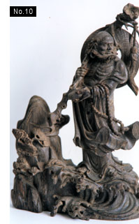 religious woodcarving