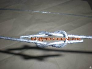 tensile galvanized wire locking bale ties