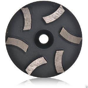 Dmy-38 Concrete Grinding Pad For Floor Polish 6 Segments