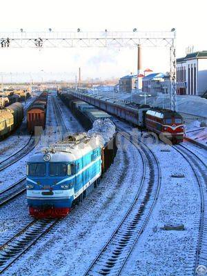 Railway Transit Transportation To Central Aisa