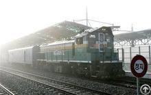 Railway Transit Transportation To Volgagrad, Via China