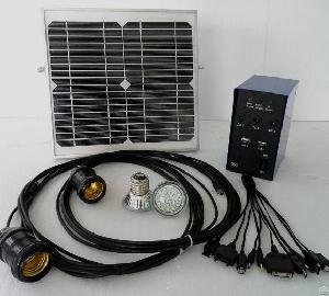 30w / 20v / 10w / 5w Portable Backup Mini Solar Power System For Lighting / Travelling / Camping / O