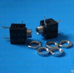 3.5mm Panel Mount Mono Jack Socket