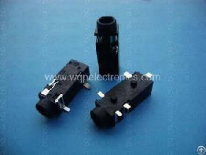 Jack Socket Surface Mount 3.5mm 5 Pins